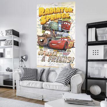 Disney Kindertapete - Cars Take The Open Road - Komar Fototapete