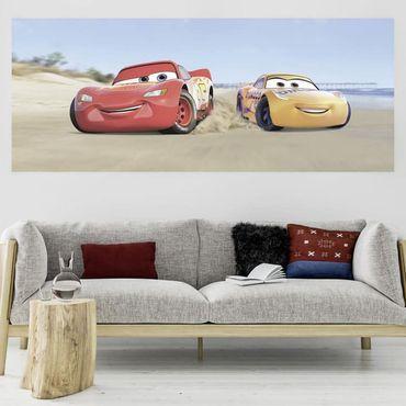Disney Kindertapete - Cars3 Beach - Komar Fototapete
