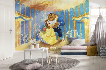 Disney Kindertapete - Die Schöne und das Biest - Komar Fototapete