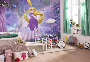 Disney Kindertapete - Rapunzel - Komar Fototapete
