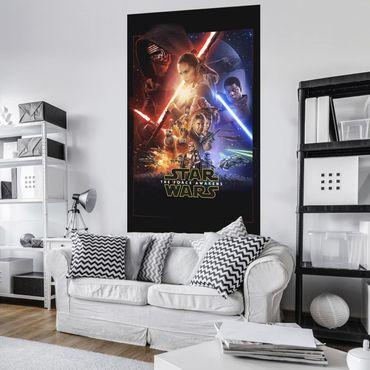 Disney Kindertapete - Star Wars EP7 Official Movie Poster - Komar Fototapete
