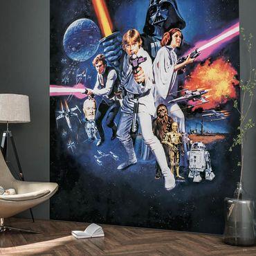 Disney Kindertapete - Star Wars Poster Classic 1 - Komar Fototapete