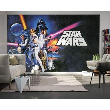Disney Kindertapete - Star Wars Poster Classic 1 - Komar Fototapete Quer