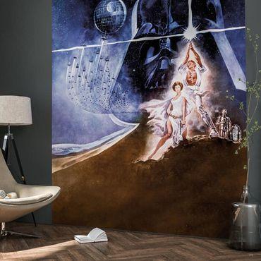 Disney Kindertapete - Star Wars Poster Classic2 - Komar Fototapete