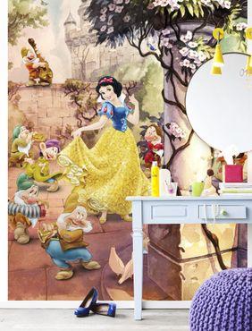 Disney Kindertapete - Tanzendes Schneewittchen - Komar Fototapete
