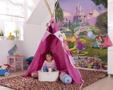 Disney Prinzessinnen Kindertapete - Sonnenuntergang - Komar Fototapete