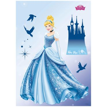 Disney Prinzessinnen Wandtattoo - Traum - Komar Deco-Sticker