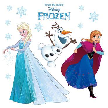 Die Eiskönigin Fenstersticker - Schneeflocke - Disney - Komar Deco-Sticker