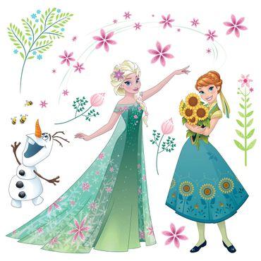 Die Eiskönigin Fenstersticker - Blume - Disney - Komar Deco-Sticker