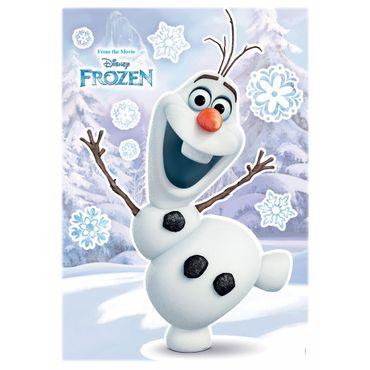 Die Eiskönigin Wandtattoo - Olaf - Disney - Komar Deco-Sticker