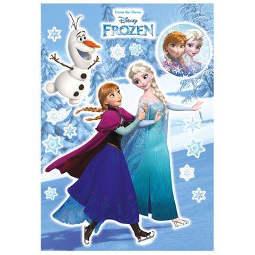 Die Eiskönigin Wandtattoo - Schwester - Disney - Komar Deco-Sticker