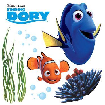 Disney's Findet Dorie Fenstersticker - Findet Dorie - Komar Deco-Sticker