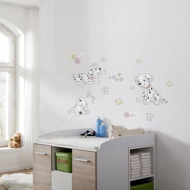 Disney Wandtattoo Kinderzimmer - Best of Friends - Komar Deco-Sticker