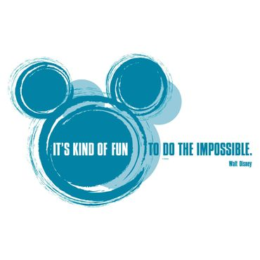 Disney Wandtattoo - It's kind of fun - Komar Deco-Sticker