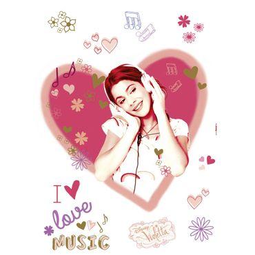 Disney Wandtattoo - Violetta - Komar Deco-Sticker