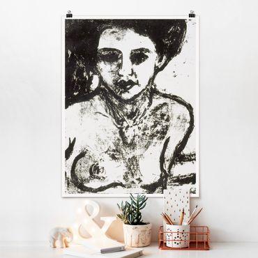Poster - Ernst Ludwig Kirchner - Artistenkind - Hochformat 3:4