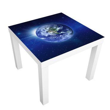 Möbelfolie für IKEA Lack - Klebefolie Erde im Weltall