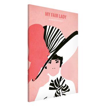 Magnettafel - Filmposter My fair Lady - Memoboard Hochformat 3:2