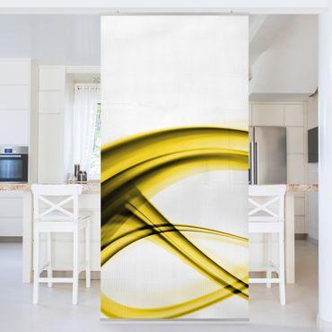Raumteiler - Yellow Element 250x120cm