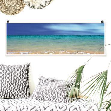 Poster - Indian Ocean - Panorama Querformat