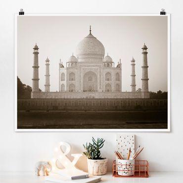 Poster - Taj Mahal - Querformat 3:4