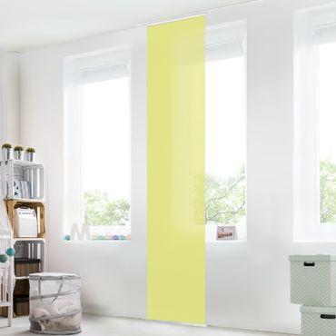 Schiebegardinen Set - Pastellgrün - Flächenvorhänge
