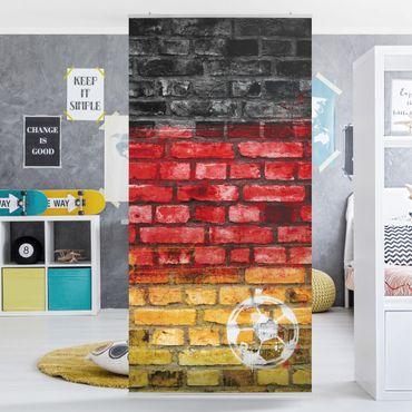 Raumteiler Kinderzimmer - Germany Stonewall 250x120cm