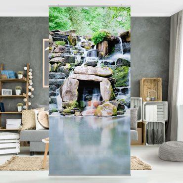 Raumteiler - Wasserfall 250x120cm