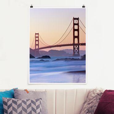 Poster - San Francisco Romance - Hochformat 3:4