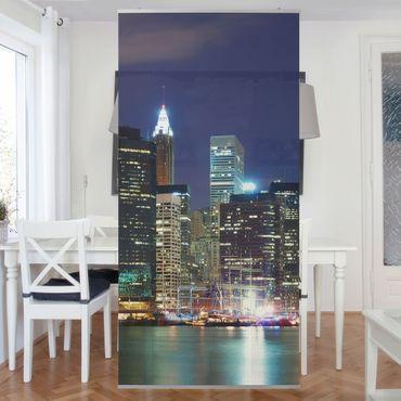 Raumteiler - Manhattan in New York City 250x120cm