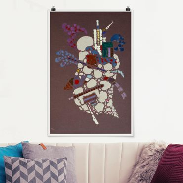 Poster - Wassily Kandinsky - Taches Grises - Hochformat 3:2