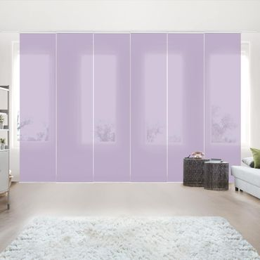 Schiebegardinen Set - Lavendel - Flächenvorhänge
