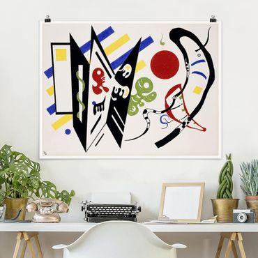 Poster - Wassily Kandinsky - Reciproque - Querformat 3:4