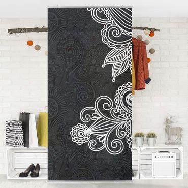 Raumteiler - Gothic Ornament 250x120cm