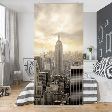 Raumteiler - Manhattan Dawn 250x120cm
