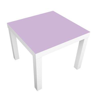 Möbelfolie für IKEA Lack - Klebefolie Colour Lavender