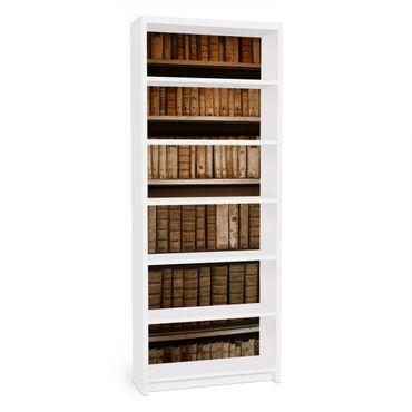 Möbelfolie für IKEA Billy Regal - Klebefolie Altes Archiv
