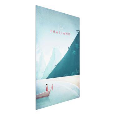 Forex Fine Art Print - Reiseposter - Thailand - Hochformat 3:2