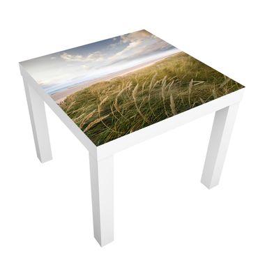 Möbelfolie für IKEA Lack - Klebefolie Dünentraum