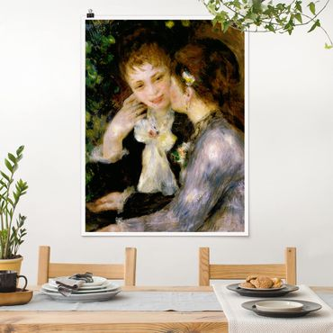 Poster - Auguste Renoir - Bekenntnisse - Hochformat 3:4
