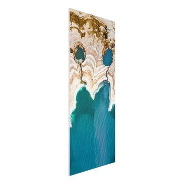 Forex Fine Art Print - Lagune in Israel - Panel