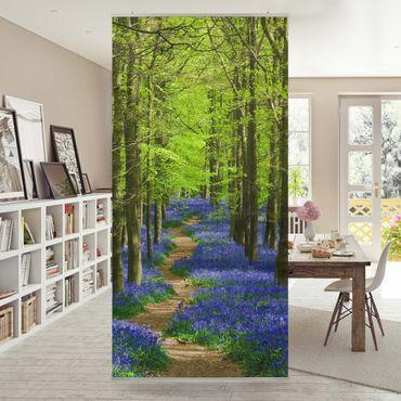 Raumteiler - Wanderweg in Hertfordshire 250x120cm