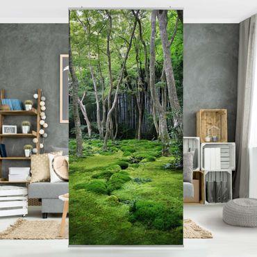 Raumteiler - Growing Trees 250x120cm