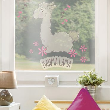 Fensterfolie - Fenstersticker NICI Karma Lama