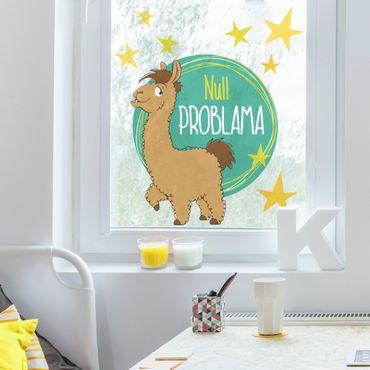Fensterfolie - Fenstersticker NICI Null Problama