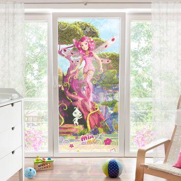 Fensterfolie - Sichtschutz Fenster Mia and me - Mia und Phuddle - Fensterbilder
