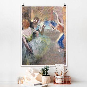 Poster - Edgar Degas - Ballettszene - Hochformat 3:4