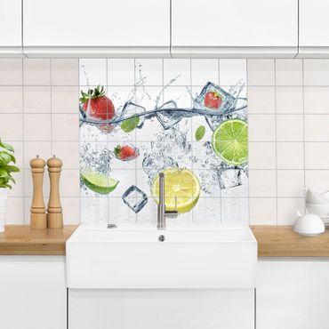 Fliesenbild - Frucht Cocktail