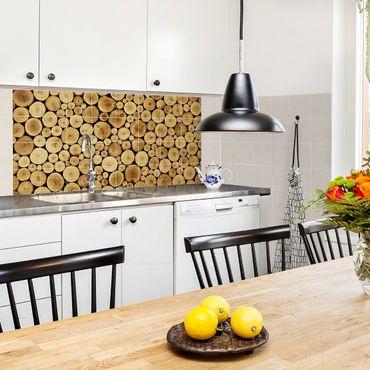 Fliesenbild - Homey Firewood