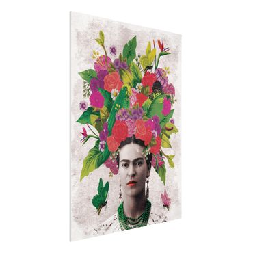 Forexbild - Frida Kahlo - Blumenportrait